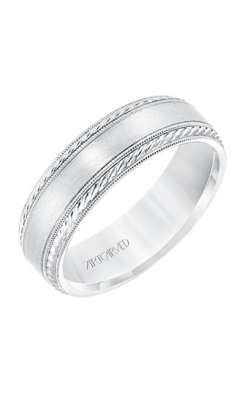 ArtCarved Engraved Wedding Band 11-WV8672W65-G product image