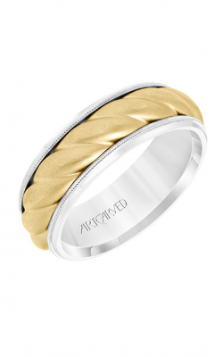 ArtCarved Wedding Band Engraved 11-WV8729WY7-G product image