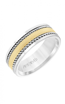 ArtCarved Wedding Band Engraved 11-WV8731WY7-G product image