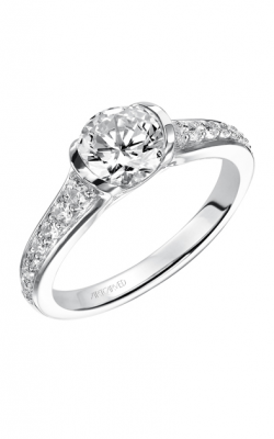 ArtCarved Engagement Ring Contemporary 31-V386ERW-E product image