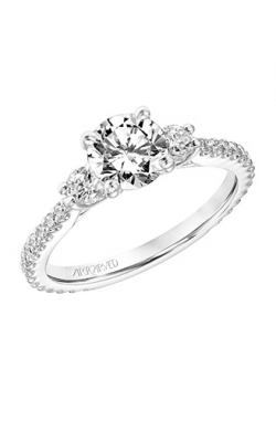 ArtCarved Classic Engagement Ring 31-V751ERW-E product image