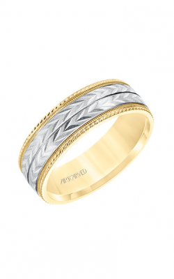 ArtCarved Engraved Wedding band 11-WV8670YW7-G product image