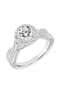 ArtCarved Vintage Engagement Ring 31-V765ERW-E product image