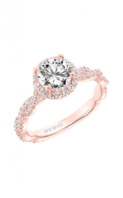 ArtCarved Contemporary Engagement Ring 31-V767ERRR-E product image