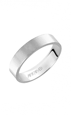 Artcarved 6MM FLAT Men's Classic Wedding Band 01-F060-G