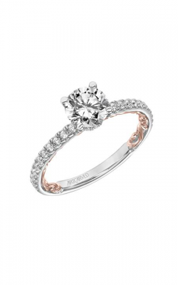 Artcarved Cora Lyric Engagement Ring 31-V903ERWR-E