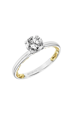 ArtCarved Lyric Engagement Ring 31-V905ERWY-E product image