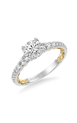 ArtCarved Lyric Engagement Ring 31-V911ERWY-E product image