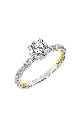 ArtCarved Lyric Engagement Ring 31-V913ERWY-E product image