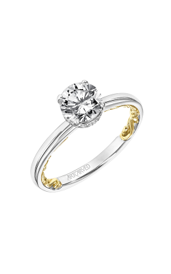 ArtCarved Lyric Engagement Ring 31-V915ERWY-E product image