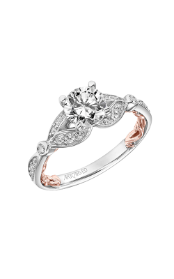 ArtCarved Lyric Engagement Ring 31-V918ERWR-E product image