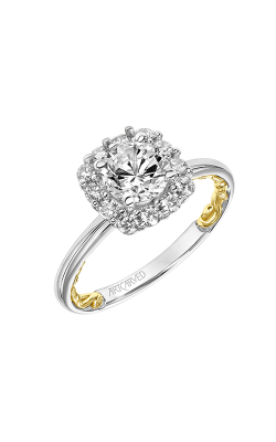 ArtCarved Lyric Engagement Ring 31-V927ERWY-E product image