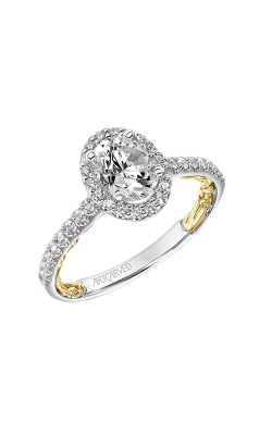Artcarved Falyn Lyric Engagement Ring 31-V928EVWY-E product image