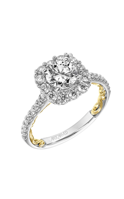 ArtCarved Lyric Engagement Ring 31-V930ERWY-E product image