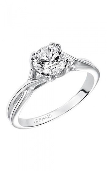 ArtCarved Contemporary Engagement ring 31-V153ERW-E product image
