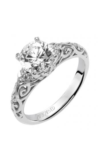 ArtCarved Vintage Engagement ring 31-V284FRW-E product image