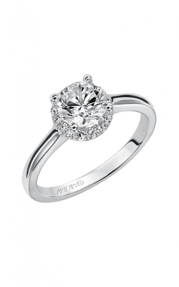 ArtCarved Classic Engagement ring 31-V325ERW-E product image