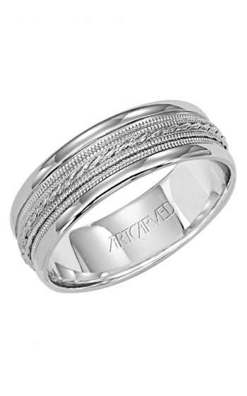 ArtCarved Contemporary Wedding band 11-WV5031W-G product image