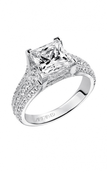 ArtCarved Classic Engagement ring 31-V504HCW-E product image