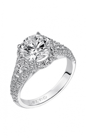 ArtCarved Classic Engagement ring 31-V506HRW-E product image