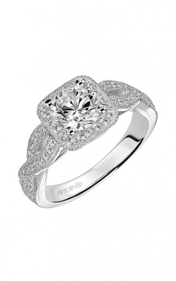 ArtCarved Vintage Engagement ring 31-V507ERW-E product image