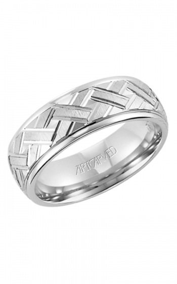 ArtCarved Vintage Wedding band 11-WV7339W-G product image