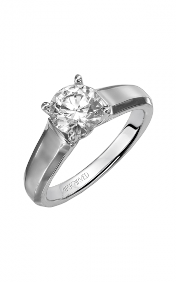 ArtCarved Classic Engagement ring 31-V126FRW-E product image