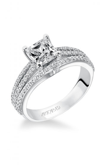 ArtCarved Classic Engagement ring 31-V210ECW-E product image