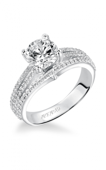 ArtCarved Classic Engagement ring 31-V210FRW-E product image