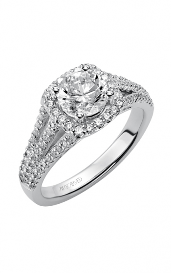 ArtCarved Classic Engagement ring 31-V300ERW-E product image
