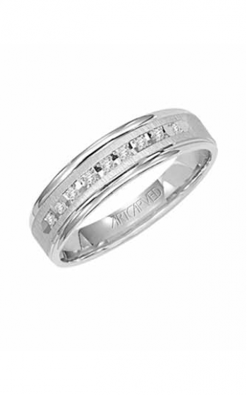 ArtCarved Classic Wedding band 21-V3107W-G product image