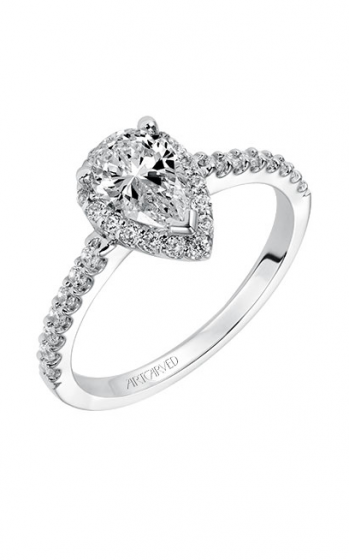 ArtCarved Classic Engagement ring 31-V324EPW-E product image
