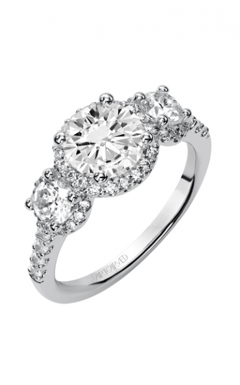 ArtCarved Classic Engagement ring 31-V376FRW-E product image