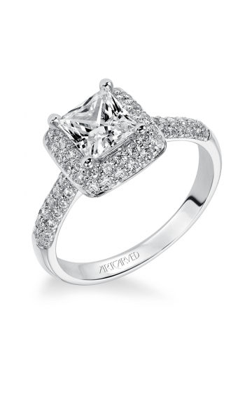 ArtCarved Classic Engagement ring 31-V378ECW-E product image