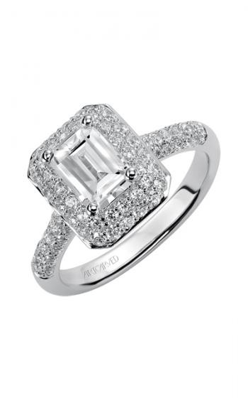 ArtCarved Classic Engagement ring 31-V378EEW-E product image