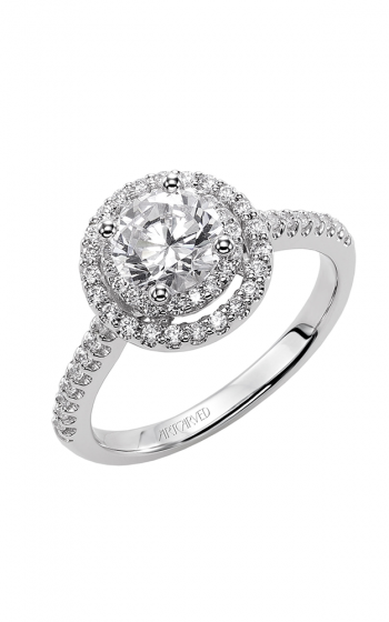 ArtCarved Classic Engagement ring 31-V380ERW-E product image
