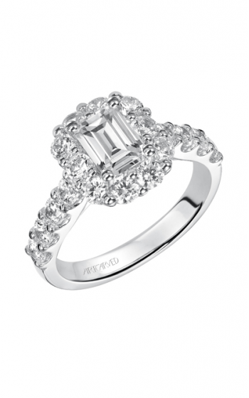 ArtCarved Classic Engagement ring 31-V332EEW-E product image