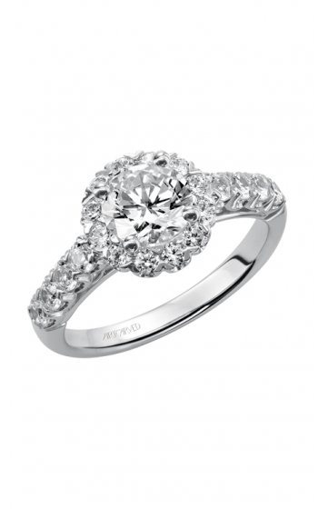 ArtCarved Classic Engagement ring 31-V440ERW-E product image