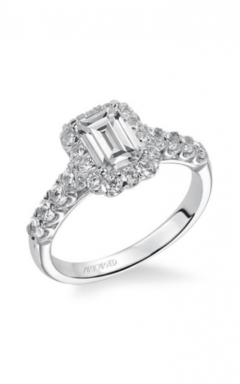 ArtCarved Classic Engagement ring 31-V441EEW-E product image