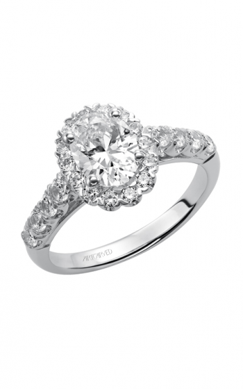 ArtCarved Classic Engagement ring 31-V441EVW-E product image