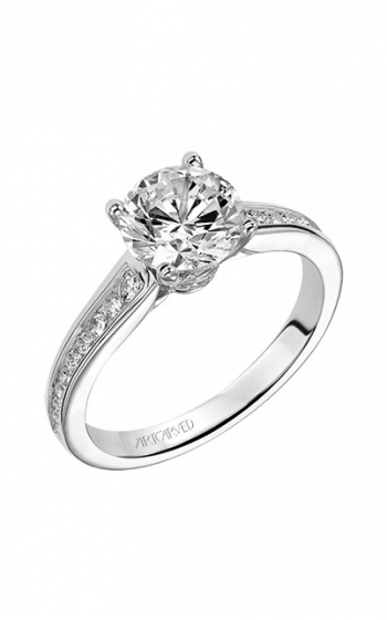 ArtCarved Classic Engagement ring 31-V499GRW-E product image