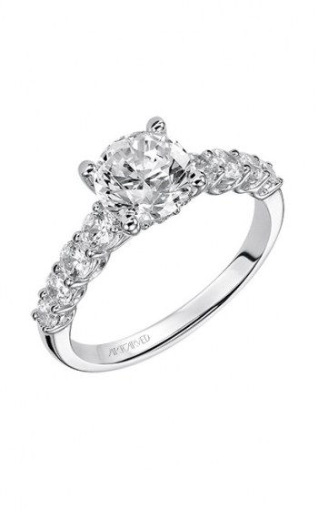 ArtCarved Classic Engagement ring 31-V508FRW-E product image