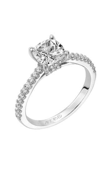 ArtCarved Classic Engagement ring 31-V574GUW-E product image