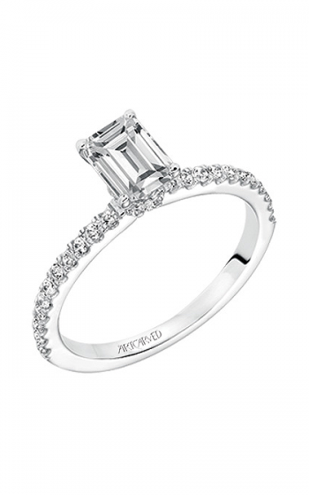 ArtCarved Classic Engagement ring 31-V544EEW-E product image