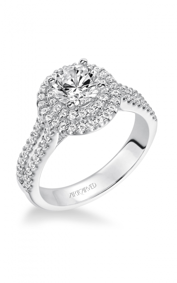ArtCarved Classic Engagement ring 31-V609ERW-E product image