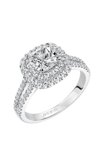 ArtCarved Classic Engagement ring 31-V610GUW-E product image