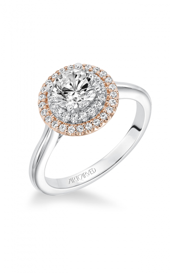 ArtCarved Classic Engagement ring 31-V612ERR-E product image