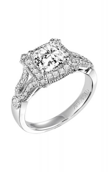 ArtCarved Vintage Engagement ring 31-V354FUW-E product image