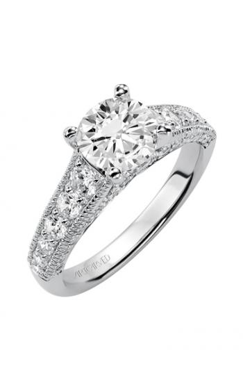ArtCarved Vintage Engagement ring 31-V369FRW-E product image