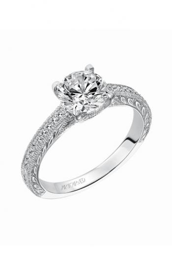 ArtCarved Vintage Engagement ring 31-V490FRW-E product image